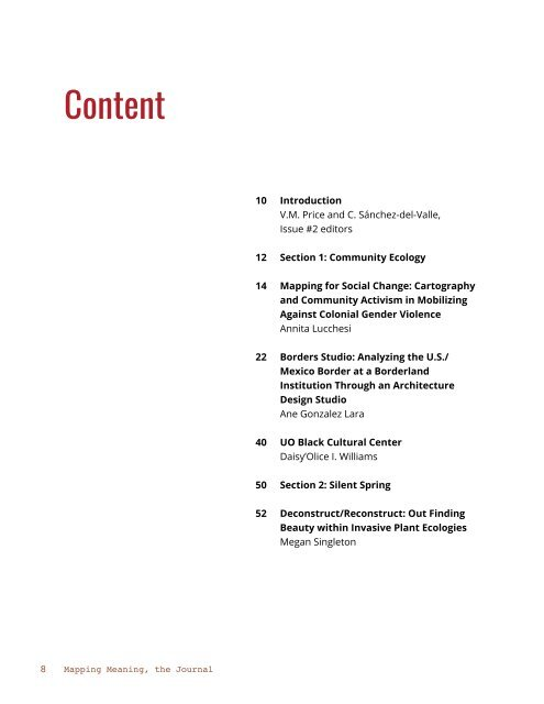 Mapping Meaning, the Journal (Issue No. 2)