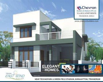 Buy Luxury Villas in Trivandrum by Chevron Builders & Realtors