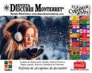 Descubre Monterrey 90 Noviembre-Diciembre 2018