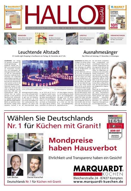 Hallo-Allgäu Kaufbeuren, Ostallgäu vom Samstag, 10.November