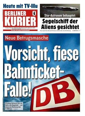 Berliner Kurier 09.11.2018
