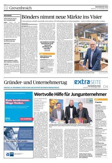 Gründer- und Unternehmertag  -10.11.2018-