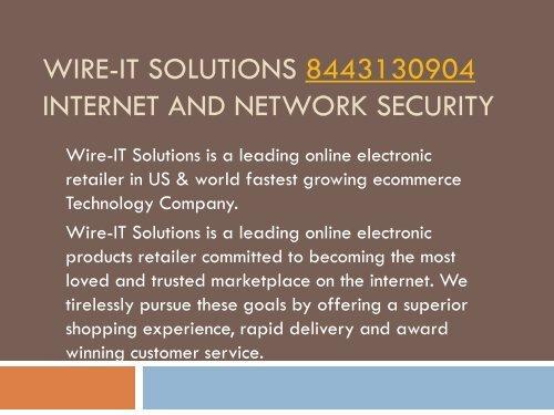 AVG Antivirus- Wire-IT Solutions - 8443130904