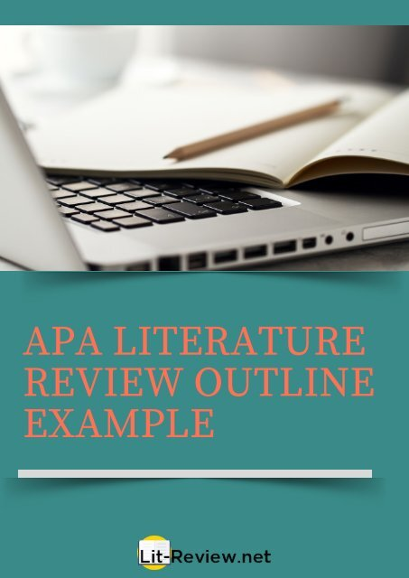 example of a literature review outline