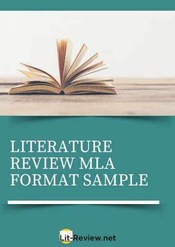 Astonishing Sample Literature Review MLA Format