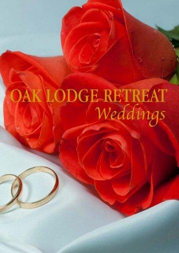 Oak Lodge Retreat Weddings