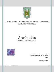 Manual Artrópodos