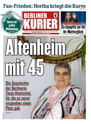 Berliner Kurier 10.11.2018