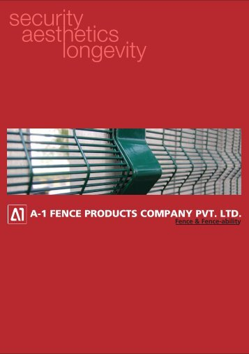 a1 fence product catalog