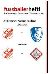 10. Ausgabe vs. Pielenhofen