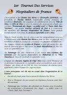 Fascicule Tournoi Hospitaliers 2018 - Page 3