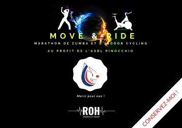 Livret Move & Ride 2018
