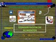 4 - CONSEVACION DE ALIM