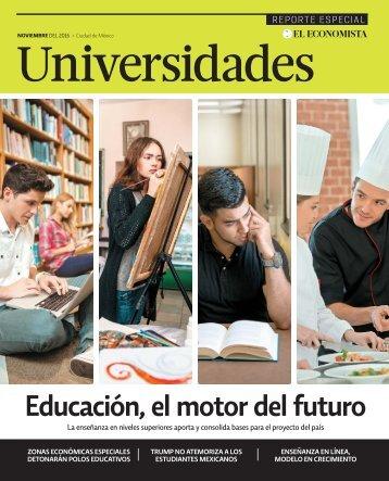universidades301116 REVISTA 2018