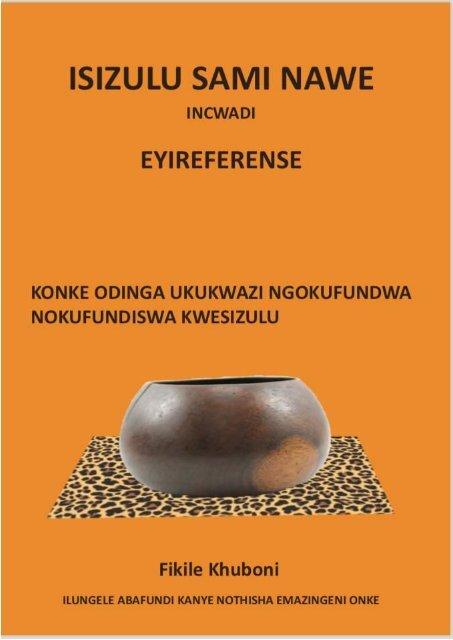 IsiZulu Sami Nawe
