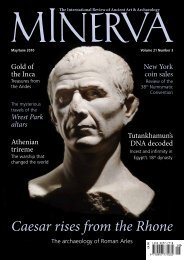 MINERVA - the International Review of Ancient Art & Archaeology July-August 2010