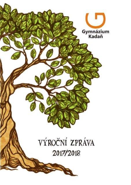 Výroční zpráva Gymnázia Kadaň 2017/2018