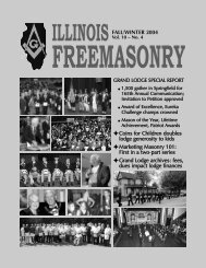 illinois freemasonry - Grand Lodge of Illinois