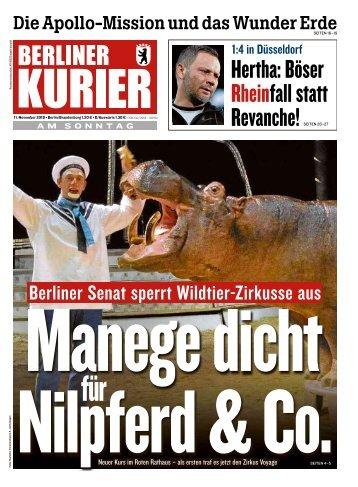 Berliner Kurier 11.11.2018