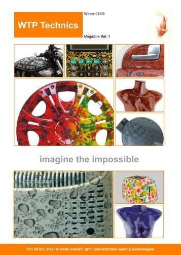 WTP Technics imagine the impossible - CarlosDesign
