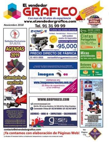 Revista El Vendedor Gráfico Noviembre 2018