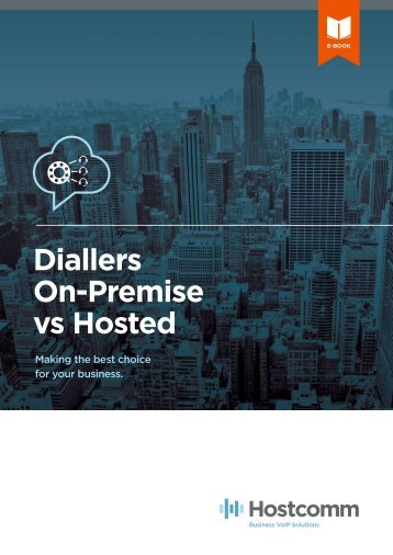 Diallers On-Premise vs Hosted