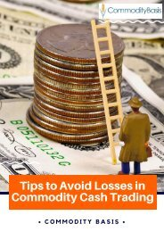 Useful Tips For Commodity Cash Trading   Commodity Basis