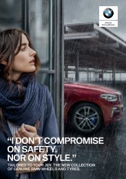 2018-19 BMW Winter Wheel Brochure
