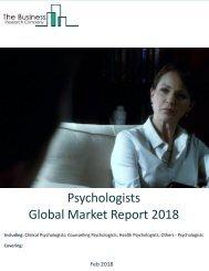 Psychologists Global Market Report 2018 Sample