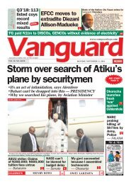 12112018 - Storm over search of Atiku's plane by securitymen