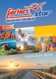 Sieghart Reisen Sommerkatalog 2019