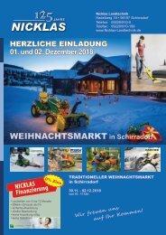Nicklas Landtechnik Weihnachtseinladung