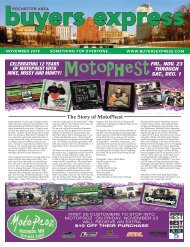 Buyers Express - Rochester Edition - November 2018