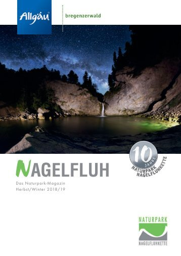 Nagelfluh - Das Naturpark-Magazin Herbst/Winter