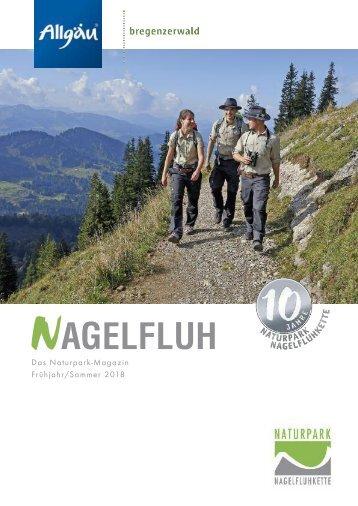 Nagelfluh - Das Naturpark-Magazin Frühjahr/Sommer 2018