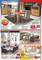 Möbel & Küchen in Mega Auswahl auf Lager - vieles vor dem Fest: das große Sparvergnügen bei Mega Möbel in Schwandorf und Weiden - Page 7