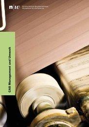 FHNW - CAS Management und Umwelt