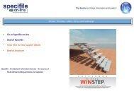 Wintec - Winstep Catalogue - Specifile on-line
