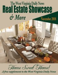 The WV Daily News Real Estate Showcase & More - November 2018