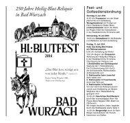 Festschrift Hl. Blutfest 2014