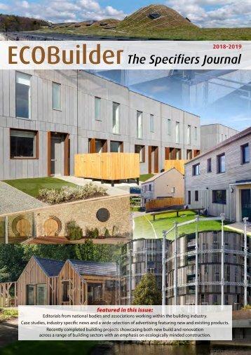 ECOBuilder_Specifiers Journal 2018_2019