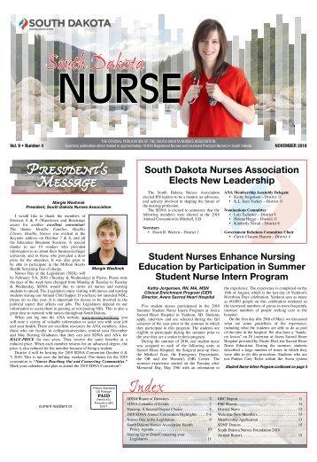 South Dakota Nurse - November 2018