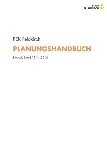 REK Feldkirch Planungshandbuch