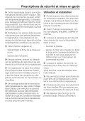 Miele B 3312 SpeedCare - Mode d'emploi - Page 7
