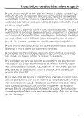 Miele PW 5065 [EL AV] - Mode d'emploi - Page 7