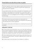 Miele PW 5065 [EL LP] - Mode d'emploi - Page 6