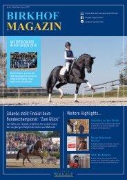 Birkhof-Magazin 2/2018