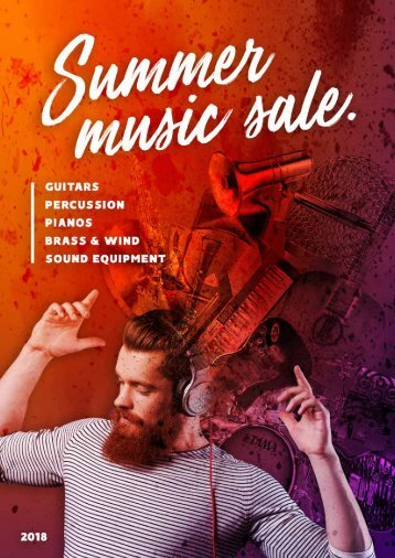 2018 SUMMER MUSIC SALE DIGITAL