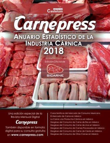 Anuario Estadístico de la Industria Cárnica 2018  - Carnepress