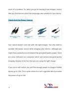 Why Keep Away From Cheap USB Chargers - Page 4